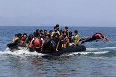 Миграционный поток в северную Европу идет через Балканы