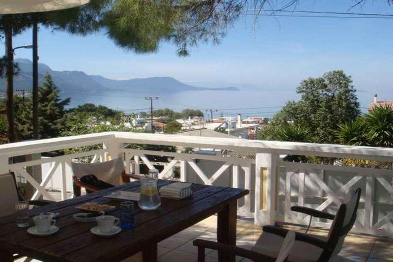 Алепохори3* апартаменты с замечательным видом на море
