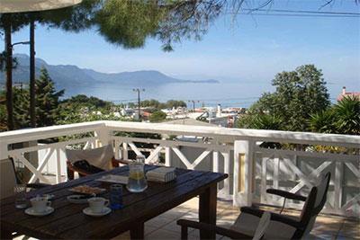 Алепохори  3* апартаменты с замечательным видом на море