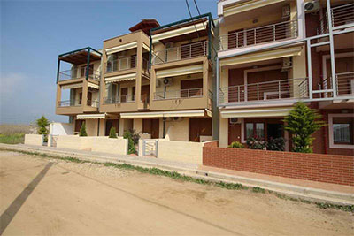 Зевс 4  4* апартаменты в солнечной Греции