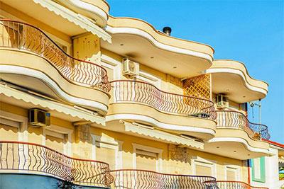 Ранди  Комфортные апартаменты в центре Пефкохори