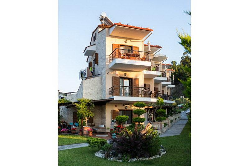 Аканта 24* апартаменты с видом на море