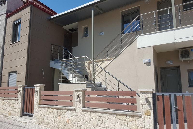 Гела4* апартаменты в центре Пефкохори