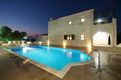 Уранос  5* вилла с видом на море на острове Крит