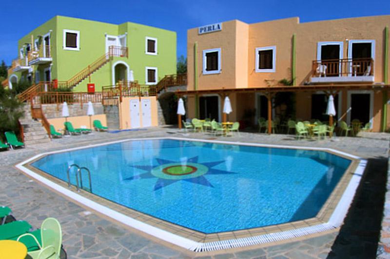 Жемчужина 13* апартаменты с видом на море, бассейн и горы