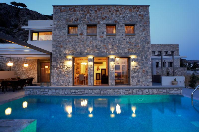 Квартира или дом в остров Родос на берегу