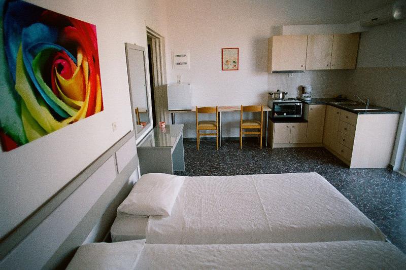 ДарияУютные апартаменты - студио в центре Фалираки