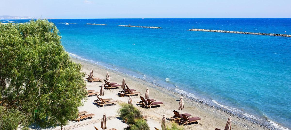пляж Лимассол Кипр